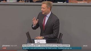 Download Rede von Christian Lindner zur Regierungspolitik der Bundeskanzlerin am 12.09.18 Video