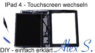 Download Apple IPad 4 Touchscreen, Glas wechseln, austauschen, reparieren, Deutsch Video