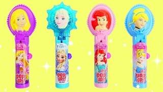 Download Disney Princess Lollipop Ups with Elsa, Ariel & Cinderella Video
