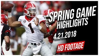 Download Justin Fields Georgia Spring Game Full Highlights || 4.21.2018 Video