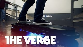 Download Riding the Hendo hoverboard Video