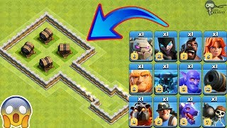 Download 4X Giant Cannon vs All Troops Clash of Clans | Giant Cannon vs Every Single Troop COC Video