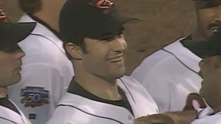 Download 1997ALDS Gm4: Myers gets Buhner, O's advance to ALCS Video