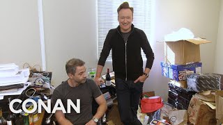 Download Conan Downsizes Jordan Schlansky's Office - CONAN on TBS Video