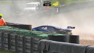 Download ADAC GT Masters 2017. Race 2 Sachsenring. Jonathan Judek Crash Video