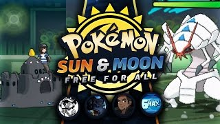 Download SHINY PALOSSAND'S EMERGENCY EXIT! VS 6ftHax, CraigMaster, HerpDerpWalrus! - Pokemon Sun and Moon FFA Video