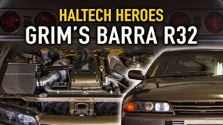 Download 975hp, Barra powered Nissan R32 - Haltech Heroes Video