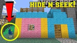 Download Minecraft: PEACOCKS HIDE AND SEEK!! - Morph Hide And Seek - Modded Mini-Game Video
