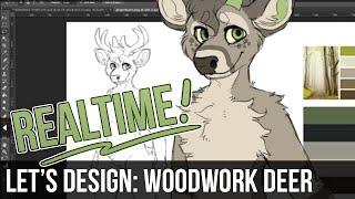 Download Let's Design – Woodwork Deer Video