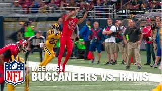Download Toe Drag Swag: Mike Evans Ridiculous Sideline Catch | Buccaneers vs. Rams | NFL Video
