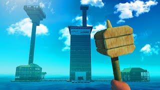 Download JELLY vs. KWEBBELKOP vs. SLOGOMAN BUILDING CHALLENGE! (Raft) Video