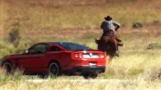 Download Muscle Cars vs Cowboys | Pony Express Race | Top Gear USA Video
