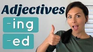 Download Common Mistakes with English ADJECTIVES 👉🏼 -ed and -ing endings Video