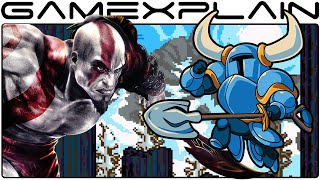 Download Kratos Boss Fight in Shovel Knight (& Blades of Chaos!) Video