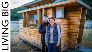 Download Breathtakingly Beautiful Japanese Tiny House on Wheels Video