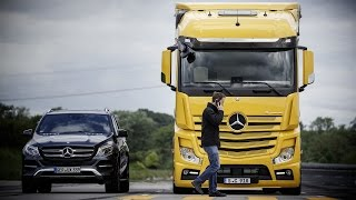 Download Mercedes-Benz Actros - Active Brake Assist 4 and Sideguard Assist (2016) Video