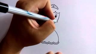 Download วาดการ์ตูนกันเถอะ สอนวาดการ์ตูน เจ้าหญิง ง่ายๆ หัดวาดตามได้เลย Video