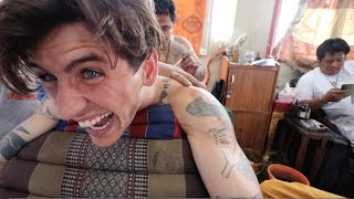 Download TATTOOED BY BUDDHIST MONKS! Video