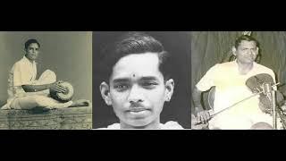 Download Dr. M Balamuralikrishna-MS Gopalakrishnan-Umayalpuram K Sivaraman concert (1960s) Video