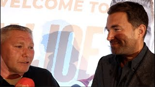 Download 'I WAS A LITTLE UPSET WITH YOU AT THE TIME!' - TOMMY SAUNDERS (BILLY JOE'S DAD) TELLS EDDIE HEARN Video