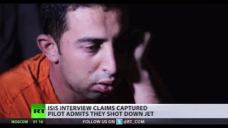 Download Game changer for coalition? Pilot captured by ISIS claims militants downed his jet Video