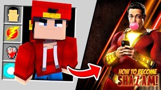 Download Minecraft Adventure - HOW TO BECOME SHAZAM!! Video