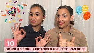 Download 10 CONSEILS POUR ORGANISER UNE FÊTE PAS CHER 🎉 ⎟ NORYBABE Video