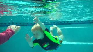 Download Toddler Swim Lesson / Collin 2 Years Old Video