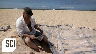Download Can a Solar Still Generate Enough Fresh Water for Survival? | MythBusters Video