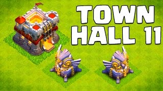 Download Clash of Clans Town Hall 11 Update (& 2015 Update Ideas!) Video