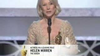 Download Helen Mirren winning an Oscar® for ″The Queen″ Video
