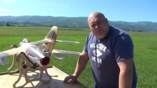 Download Mig 17 RC Lander 90mm EDF jet Maiden flight Video