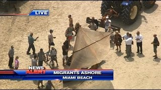 Download Illegal Immigrants from Cuba arrive on Florida shores Video
