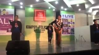 Download KIMPOY FELICIANO @ SM BALIWAG Video