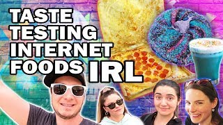 Download 🍕Eating Internet Foods ft. SimplyNailogical and SafiyaNygaard Video