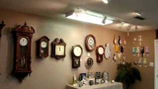 Download Gulf Coast Clock Co. - Pensacola 12pm chime and strike Video