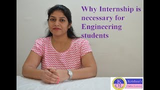Download Why internship is necessary for engineering students Video