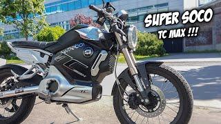 Download Super Soco TC MAX (125cc) : Cafer Racer Electrique Video