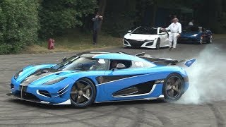 Download Best Supercar Sounds Of Goodwood Festival Of Speed 2018 (Donuts, Burnouts, drifts and Full Throttle) Video