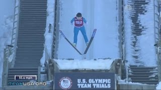 Download Jerome Jumps Into Olympic History   2014 U.S. Olympic Trials Ski Jumping Video
