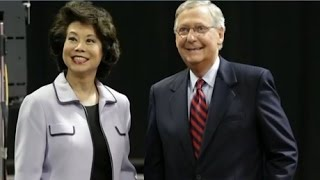 Download THE WALL IS GOING UP: TRUMP CUTS DEAL WITH MITCH McCONNELL. ELAINE CHAO FOR TRANSPORTATION SECRETARY Video
