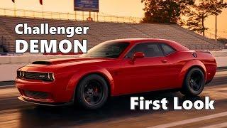 Download 2018 Dodge Challenger Demon Preview Video