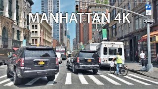 Download Driving Downtown - Manhattan 4K - New York City USA Video