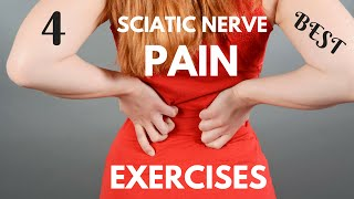Download 4 Best Sciatic Nerve Pain Exercises - How to Relieve Sciatic Nerve Pain in 7 Days Video