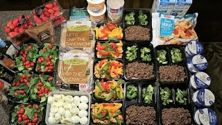 Download Cutting Meal Prep - 2500 Calories: Cooking And Packaging Each Meal Video