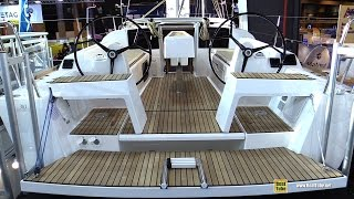 Download 2017 Dufour 310 Grand Large Sailing Yacht - Deck and Interior Walkaround - 2016 Salon Nautique Paris Video