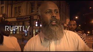 Download UK: Eyewitness recalls van attack outside London mosque Video