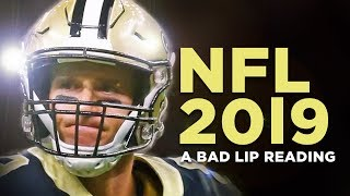 Download ″NFL 2019″ — A Bad Lip Reading of The NFL Video