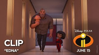 Download Incredibles 2 Clip - ″Edna″ Video