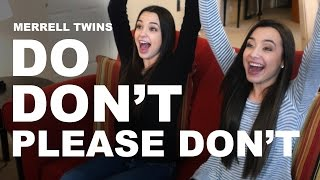 Download DO, DON'T, PLEASE DON'T - Merrell Twins Video